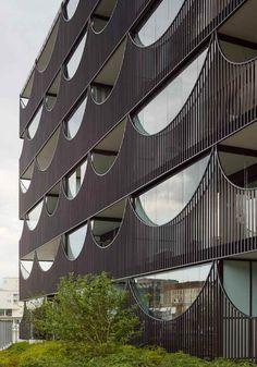 Корпуса Västra Kajen от студии Tham & Videgård Arkitekter