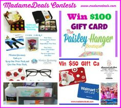 Hot Prizes! Join our #giveaways #contests http://madamedeals.com/contests/ #inspireothers