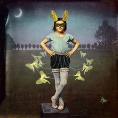 Moth Dancer, Maggie Taylor