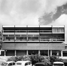 University House, University of Sheffield, c. 1963 (Photograph: Henk Snoek)