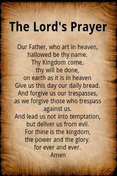 14 Best Lords Prayer Images The Lords Prayer Lord Prayers