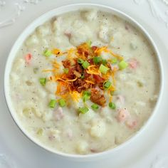 Creamy Ham and Potato Soup — The Girl Who Ate Everything