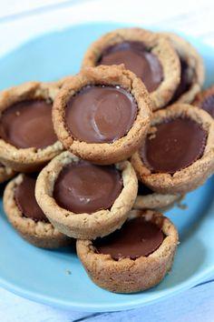 Peanut Butter Cup Cookie Cupcakes Recipe