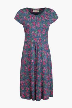 Seasalt Ladies Carnmoggas Dress in Floral Garden Gall - Anna Davies
