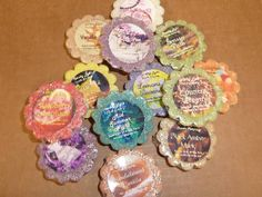 Baker's Dozen Bag of Natural No-Stick Wax Tarts in a scent theme of your choice – 13 different scents per bag, each individually wrapped