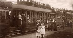 The Swansea Mumbles Railway Swansea Bay, Rail Car, Great Western, Hyde Park, South Wales, Welsh, First World, Fathers, Transportation