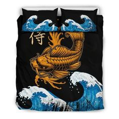 Are you looking for unique bedding sets for adults? We got you covered. All of our bedding sets have unique designs such as gothic bedding sets, skull bedding sets and more. Our bedding sets are super-soft, comfortable, and perfect for any season. Each bedding set comes with a duvet cover and 2 pillow covers. Blue Bedding Sets, Queen Bedding Sets, Gothic Bed, Japanese Warrior, Unique Bedding, Modern Warfare, Wolf, Pillow Covers, Skull