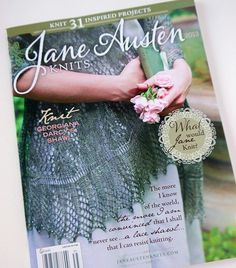 Jane Austen Knits Magazine Featured Our Tote Bag! #etsy