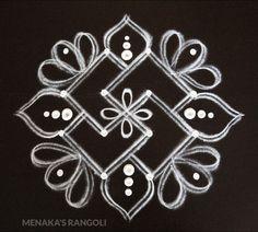 Simple Rangoli Border Designs, Rangoli Simple, Rangoli Designs Latest, Free Hand Rangoli Design, Small Rangoli Design, Rangoli Designs With Dots, Mehndi Art Designs, Rangoli With Dots, Beautiful Rangoli Designs