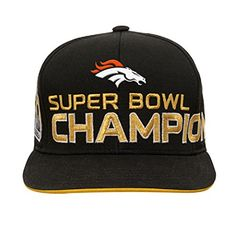 Denver Broncos Flat Brim Hats