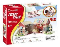 3D-pussel villa