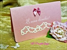 BIGLIETTO SCRAP BATTESIMO-NASCITA - farfalle-trenino, by Progetti Grafici per Matrimoni ed Eventi, 1,99 € su misshobby.com
