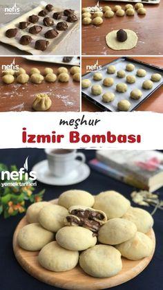 Pizza Sandwich, Nutella Cheesecake, Good Food, Yummy Food, Turkish Recipes, Desert Recipes, Food Presentation, Brunch, Food And Drink