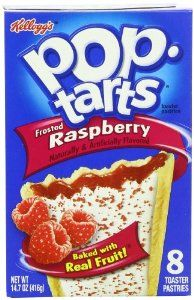 Pop-Tarts, Frosted Raspberry, 8-Count Tarts (Pack of 12) - http://www.handygrocery.com/grocery-gourmet-food/breakfast-foods/toaster-pastries/poptarts-frosted-raspberry-8count-tarts-pack-of-12-com/