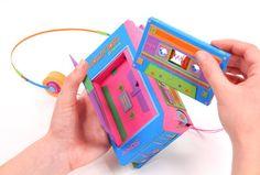 Retro Electronics Made of Paper by Zim and Zou | Zeutch