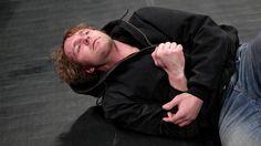 An injured Dean Ambrose retaliates against Brock Lesnar: photos