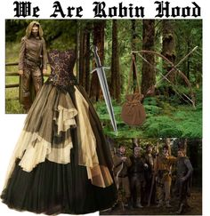 """We Are Robin Hood"" by monaruth ❤ liked on Polyvore"