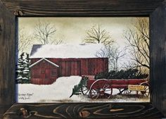 Christmas Wagon Wall Art Available @countrycabindecor Gift Certificates available