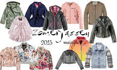 De zomerjassen voor 2015 zijn weer in de winkels. Bekijk hier de mooiste zomerjassen voor meisjes in een overzicht. Spijkerjasjes, trenchcoats, leer etc.
