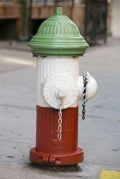 Italian fire hydrant