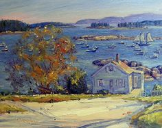 September 28, 2012 Stonington Painting Finished! Firewood Delivered! | Plein Aire in Maine
