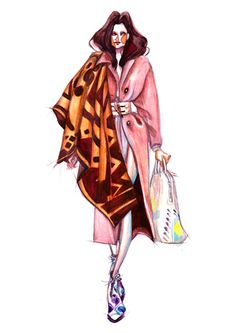 2014 Fall-Winter Fashion Illustration - I on Behance