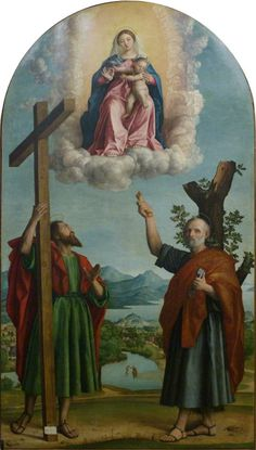 """koredzas:  """"Girolamo dai Libri (1474 - 1555) - Madonna of the Oak.  """""""