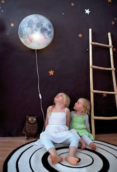 Sleepy Moon smiles all night because she knows what is hidden behind her lovely…