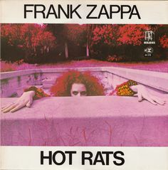 Hot Rats by Frank Zappa, released in 1969 is the second solo album by an american guitarist and composer Frank Zappa. The album was dedicated to Zappa's new-born son Dweezil and it featured only six songs from which five were instrumental.    Hot Rats was the first Frank Zappa album recorded on 16-track equipment and one of the first rock/jazz albums ever to use that technology.      The album cover photo was shot by Andee Cohen Nathanson utilizing a psychedelic infrared photography technique.