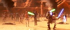 STAR WARS II ATTACK OF THE CLONES (2002)