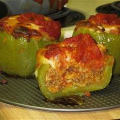 So light yet so filling! Stuffed peppers - great recipe!