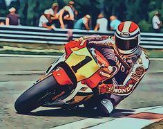 Racing Motorcycles, Motorcycle Bike, Freddie Spencer, Road Racing, Motogp, Grand Prix, Motorbikes, My Hero, Pilot