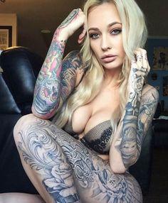 Tattooed Model Brittany Hetzer. #inked #inkedmag #tattoo #Inkedgirls #tattoo #model #sexy #gorgeous #brittany #hetzer