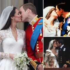 prince william and kate wedding balcony kiss - Google Search