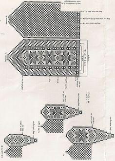 . Crochet Mittens Free Pattern, Knit Mittens, Crochet Chart, Knitted Gloves, Filet Crochet, Knitting Socks, Knit Crochet, Knit Socks, Knitting Charts