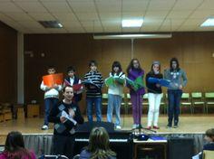 Alumnes de cor del professor Salva García (25-3-2013).