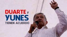 Asegura AMLO que Yunes no meterá a la cárcel a Duarte
