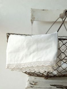 I have a vintage pillow case very similar to this one! Love it!