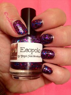 NOPI- I've got Bieber Fever  Amy's Nail Boutique- Ecopolo