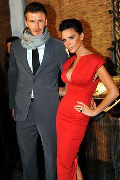 Victoria Beckham and David Beckham, Celebrity Photos, Fashion, Marie Claire