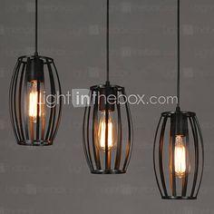 Contemporain / Traditionnel/Classique / Rustique / Vintage LED Verre Lampe suspendueSalle de séjour / Chambre à coucher / Salle à manger de 2016 à €28.21