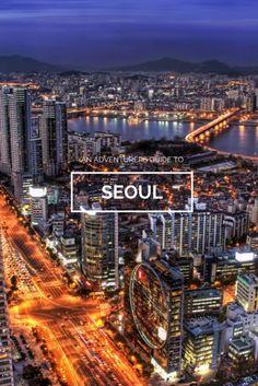 Cityscape along the Han River, Seoul, South Korea. South Korea Seoul, South Korea Travel, Places Around The World, Travel Around The World, Around The Worlds, Places To Travel, Oh The Places You'll Go, Places To Visit, Republik Korea