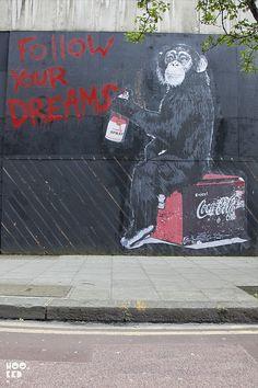 Mr. Brainwash, London via Flickr