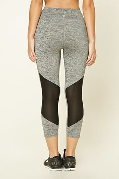 f9843fb369240c Active Marled Capri Leggings Fitness Wear, Fitness Fashion, Capri Leggings,  Workout Wear,