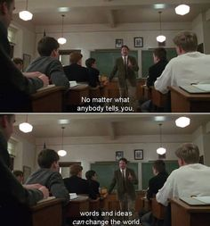 Dead Poets Society (1989) | Find more movie quote's: www.pinterest.com/AnkApin/cine-follow