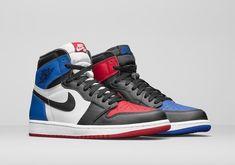 7c97039e6f4 Nike Air Jordan I 1 Retro Kid Shoes Black White Blue Red 575441