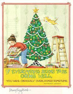 Mary Englebreit Christmas art