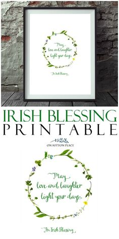 Irish Blessing Free