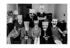 Inge Morath & Saul Steinberg's Mask series