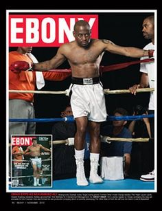 To celebrate its anniversary issue and icons of the past, EBONY magazine chose current celebs to play them: Omar Epps as Muhammad Ali♫♫♥♥♫♫♥♫♥JML Ebony Magazine Cover, Magazine Front Cover, Magazine Covers, Jet Magazine, Black Magazine, Black History Facts, Black History Month, Black Art, Omar Epps